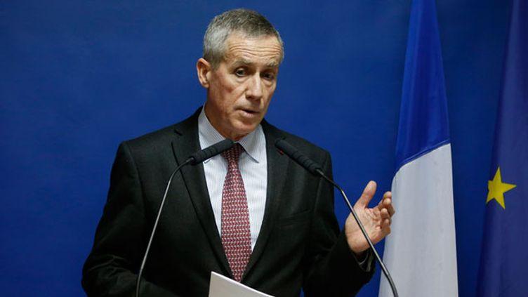 (Le procureur de la République de Paris, François Molins, lors d'une conférence de presse le 24 novembre 2015 sur les attentats du 13 novembre © REUTERS/Eric Gaillard)
