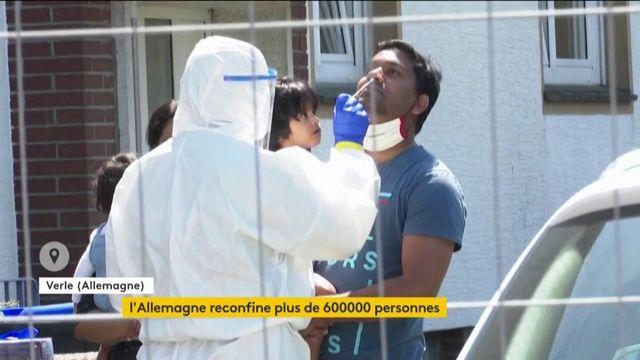 Coronavirus : l'Allemagne reconfine plus de 600 000 personnes