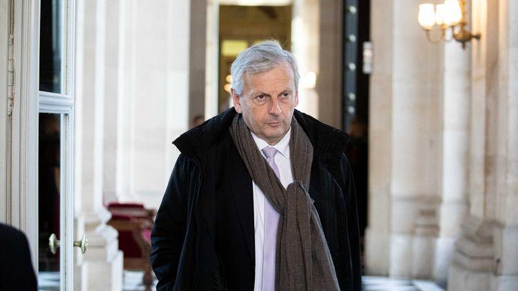 Jean-René Cazeneuve à l'Assemblée nationale, le 11 février 2020, à Paris. (MAXPPP)