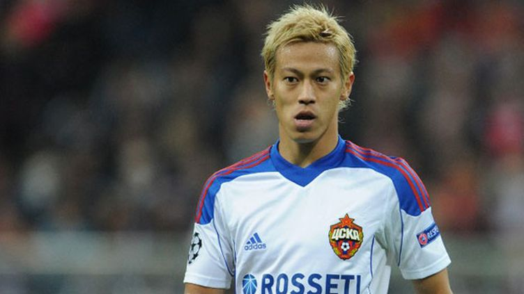 Le joueur japonais Keisuke Honda
