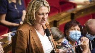 Valérie Gomez-Bassac à l'Assemblée nationale le 21 juillet 2020. (VINCENT ISORE / MAXPPP)