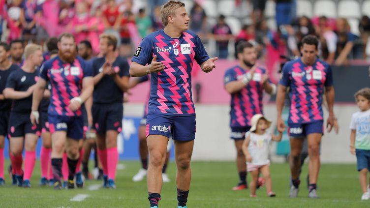 Le joueur du Stade Français Jules Plisson