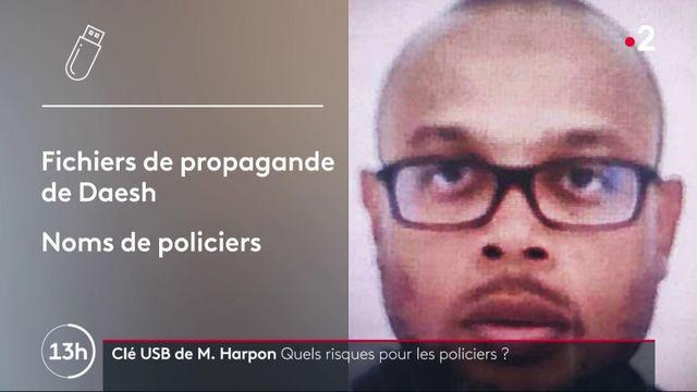 Attaque à la préfecture : des coordonnées de policiers retrouvées sur une clé USB de Mickaël Harpon
