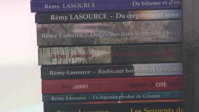 Rémy Lasource, flic et écrivain