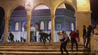 D'importants heurts ont eu lieu dans la partie est de Jérusalem, après des menaces d'expulsion de familles palestiniennes de leur quartier. (France 2)