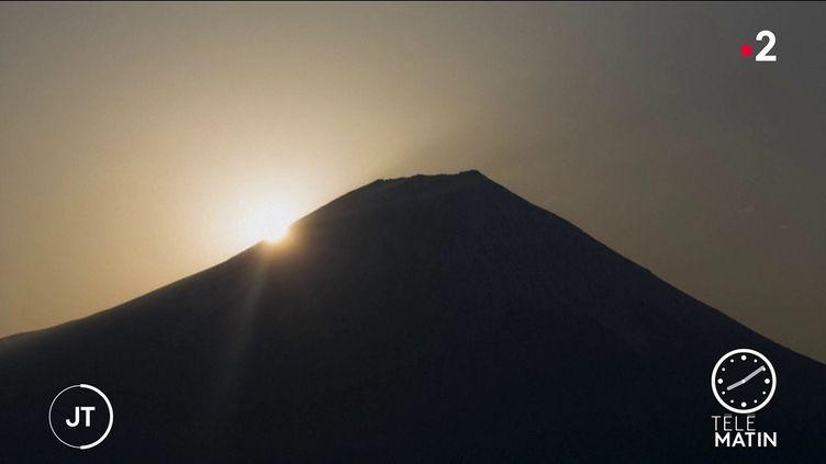 Le mont Fuji, au Japon (France 2)