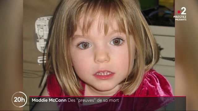 "Maddie McCann : des ""preuves"" de sa mort"