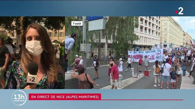 Alpes-Maritimes : à Nice, cinquième semaine de manifestation de suite contre le pass sanitaire