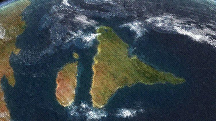 Il y a plusieurs dizaines de millions d'années, l'Inde se rapproche du continent. (Photo d'illustration) (WALTER B.MYERS / NOVAPIX / AFP / AWA SANE / FRANCEINFO)
