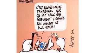 (Le FN et les élections européennes © Pinter - Pinter)