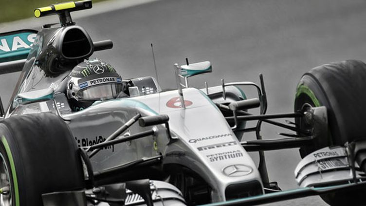 Le pilote allemand Nico Rosberg