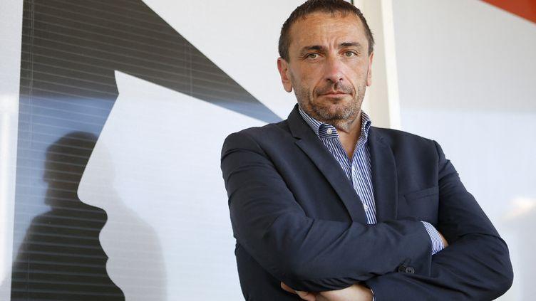 Paul-André Colombani,président de l'observatoire régional de la santé de Corse, médecin généraliste et député Pè a Corsica de Corse-du-Sud, le 17 juin 2017. (PASCAL POCHARD-CASABIANCA / AFP)
