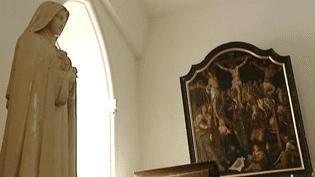 L'oeuvre de Van Heemskerck ici au fond, trônait dans l'église de Saint-Martin depuis des décennies.  (France 3 / Culturebox)
