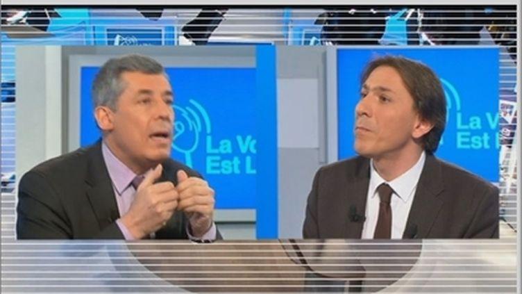 Henri Guaino et Jérôme Guedj (FTV)