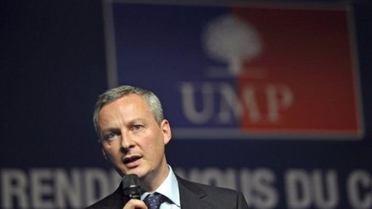 Bruno Le  Maire participe à la convention de l'UMP à Lambersart, le 22 novembre 2011. (AFP - PHILIPPE HUGUEN)