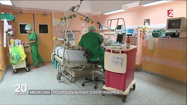Grève à l'hôpital : il y a pénurie de praticiens