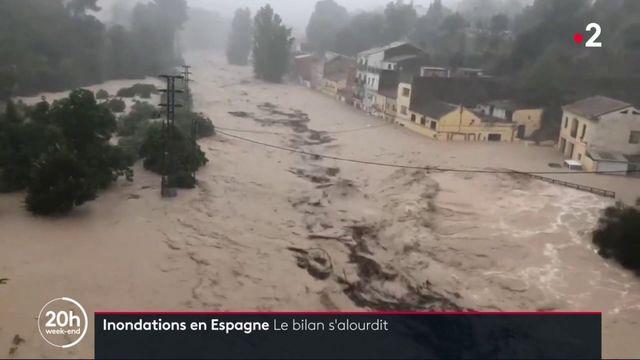 Inondations en Espagne : le bilan s'alourdit