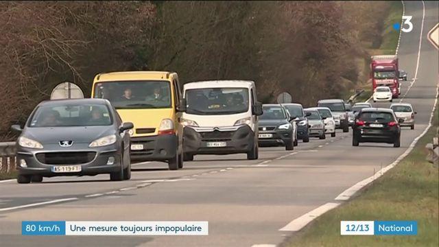 Limitation de la vitesse à 80 km/h : une mesure toujours impopulaire