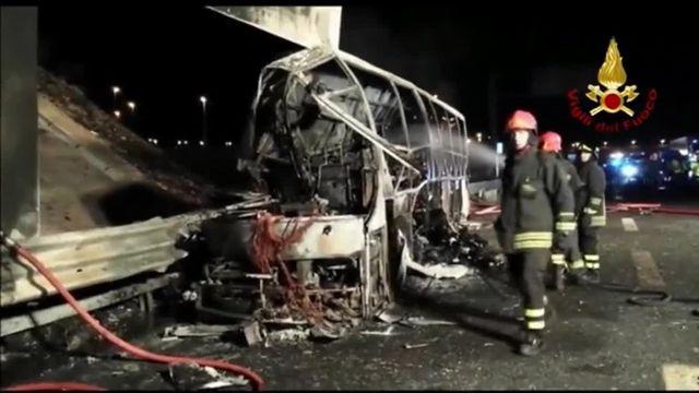 L'accident mortel d'un car qui transportait des adolescents hongrois