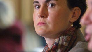 Catherine Geslain-Lanéelle, candidate de la France à la direction de la FAO, Organisation des Nations unies pour l'agriculture et l'alimentation. (PHILIPPE DESMAZES / AFP)