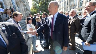Le maire Les Républicains de Bordeaux (Gironde), Alain Juppé, le 7 septembre 2015 dans sa ville. (MEHDI FEDOUACH / AFP)