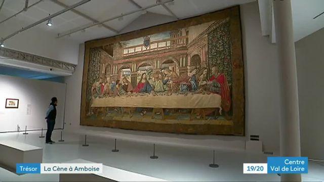 La tapisserie de la Cène à Amboise