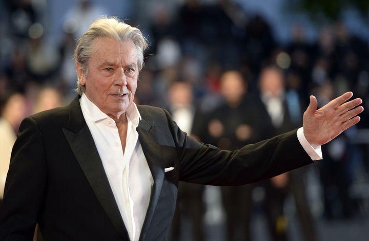 Alain Delon au 66e Festival de Cannes en 2013  (ANNE-CHRISTINE POUJOULAT / AFP)