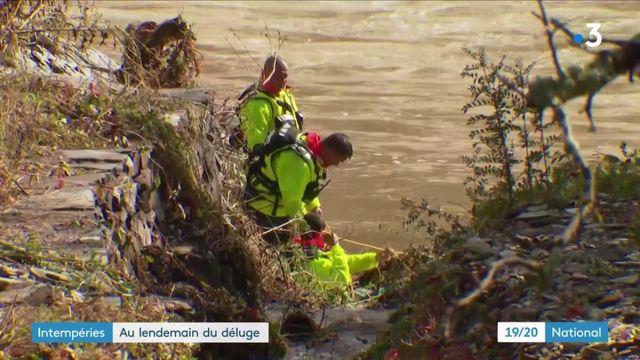 Inondations : les habitants du Gard et de l'Hérault face à des scènes de désolation