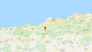 Les deux personnes tuées par une épidémie de choléra en Algérie sont mortes dans la wilaya de Blida, au sud-ouest d'Alger, selon un bilan publié le 25 août 2018. (GOOGLE MAPS)