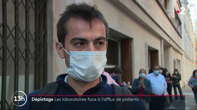 Coronavirus : les laboratoires submergés de demandes de dépistage