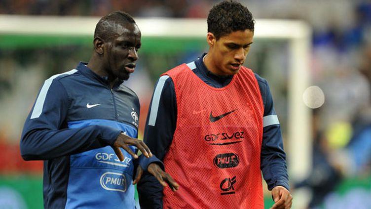Les deux défenseurs tricolores Mamadou Sakho et Raphaël Varane