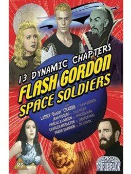 """Une affiche du serial """"Flash Gordon, soldat de l'espace"""" (1936) (DR)"""