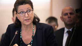 Agnès Buzyn le 11 octobre 2019, à Rouen. (LOU BENOIST / AFP)