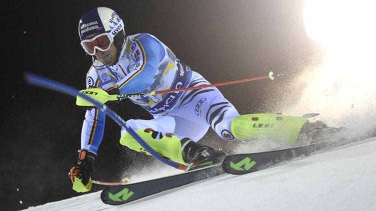 Le skieur allemand Fritz Dopfer