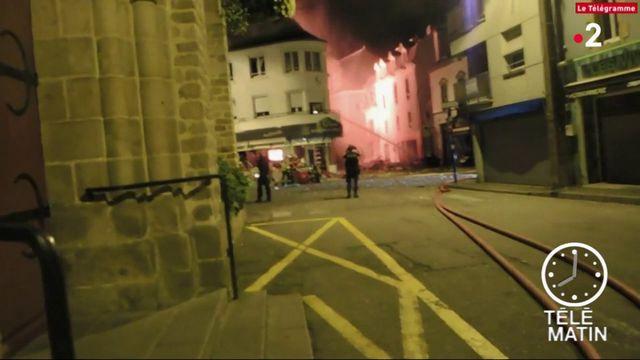 Morbihan : dix blessés dans une explosion de gaz à Quiberon