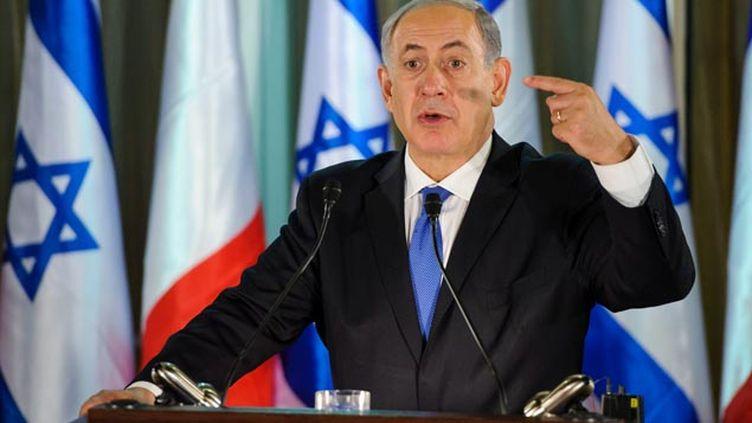(Le premier ministre Israelien Benjamin Netanyahou en novembre 2013 © Maxppp)