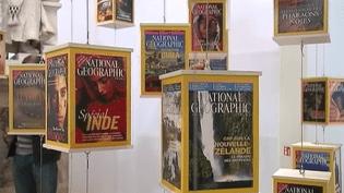 125 ans d'histoire du National Geographic racontés à travers une exposition au Muséum d'Histoire naturelle.  (France 2 / Culturebox)
