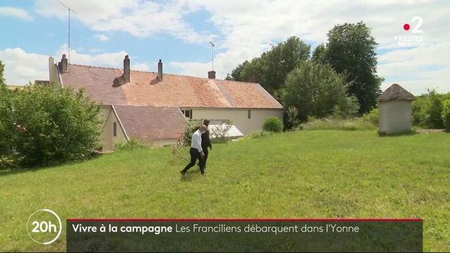 Vire à la campagne : les Franciliens débarquent dans l'Yonne