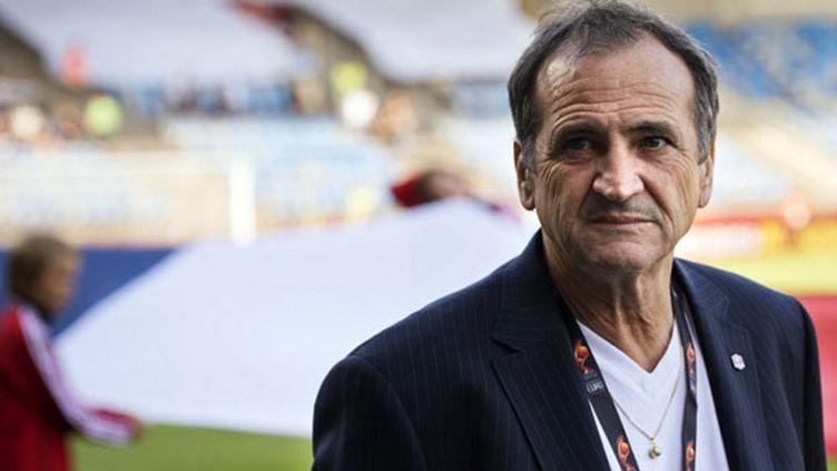 Le sélectionneur de l'équipe de France féminine, Bruno Bini