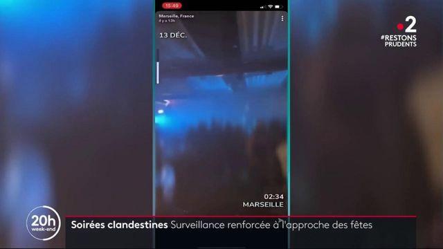 Soirées clandestines : une surveillance renforcée à l'approche de la Saint-Sylvestre