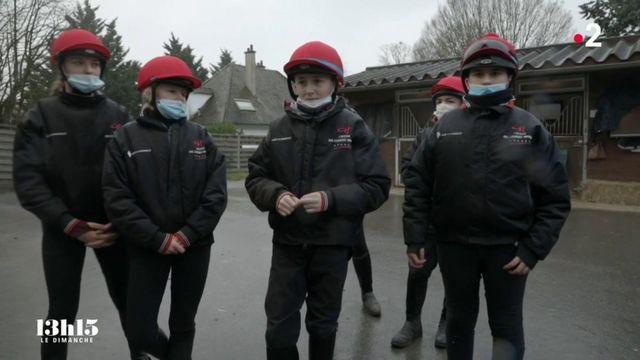 VIDEO. Oise : avec les apprentis jockeys de l'Ecole des courses hippiques de Gouvieux