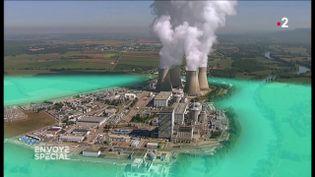 La centrale du Bugey serait-elle menacée en cas de rupture du barrage de Vouglans ? (ENVOYÉ SPÉCIAL  / FRANCE 2)