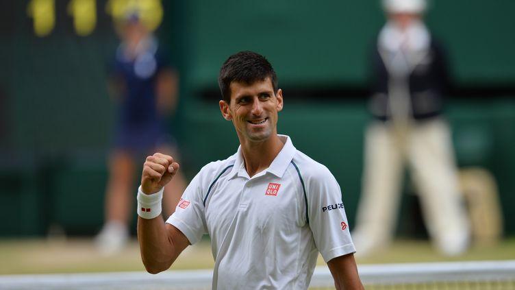 Novak Djokovic a remporté son 9e Grand Chelem à Wimbledon (GLYN KIRK / AFP)
