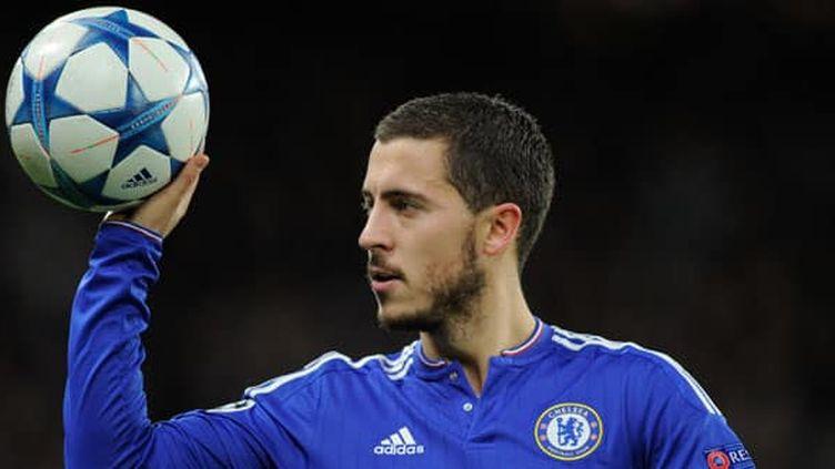 Le joueur de Chelsea, Eden Hazard