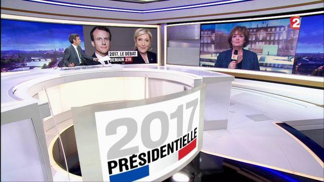 Présidentielle : Économie, sécurité et Europe seront au programme du débat de l'entre-deux-tours