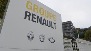 Le siège du groupe Renault à Boulogne-Billancourt dans les Hauts-de-Seine (illustration). (ERIC PIERMONT / AFP)