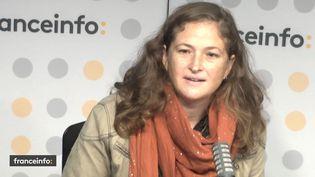Lenaïg Bredoux , journaliste et gender editor de Mediapart. (FRANCEINFO / RADIOFRANCE)