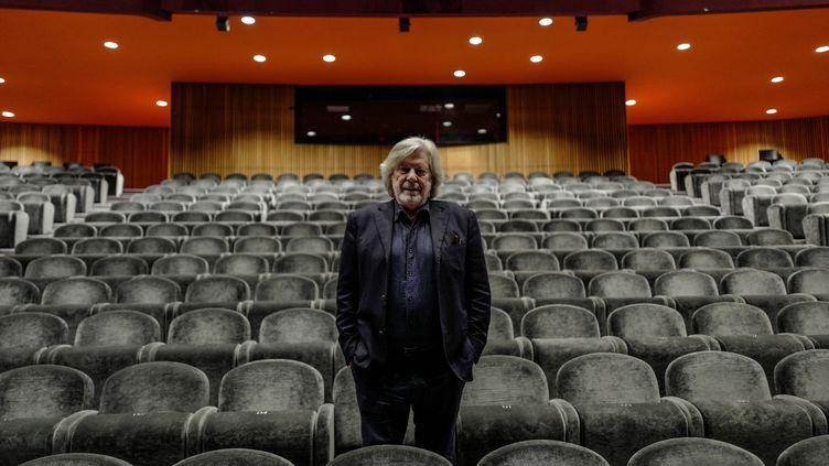 Daniel Benoin, directeur du Théâtre Anthea d'Antibes (Alpes-Maritimes), en octobre 2019. (VALERY HACHE / AFP)