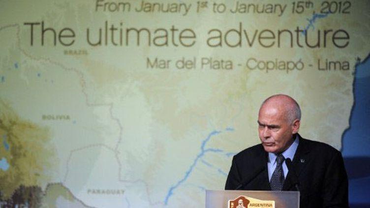 Enrique Meyer, ministre du tourisme argentin (FRANCK FIFE / AFP)