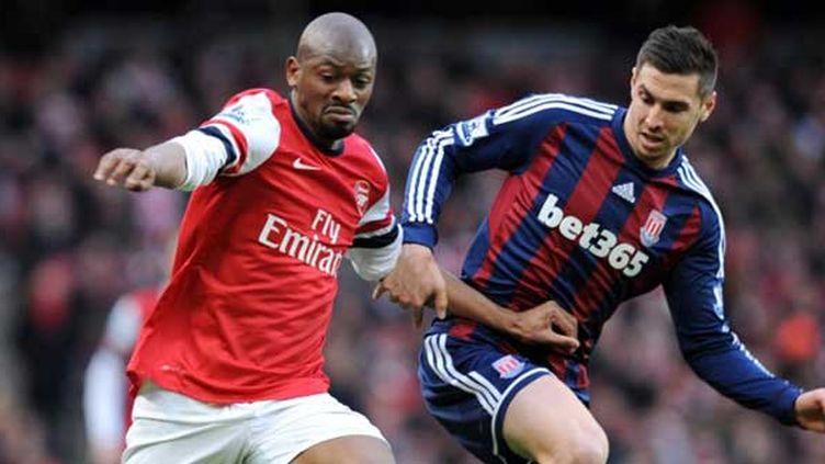 Le milieu de terrain d'Arsenal Abou Diaby s'est une nouvelle fois blessé pour une longue durée